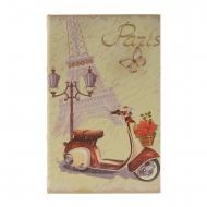 Reserve com segurança com a Torre Eiffel e Scooter