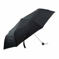Guarda-chuva de cavaleiro manual preto