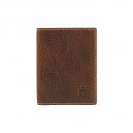 Titular do cartão e efeito robusto de couro carteira