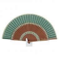 sanefas de madeira e tecido ventilador DNPI